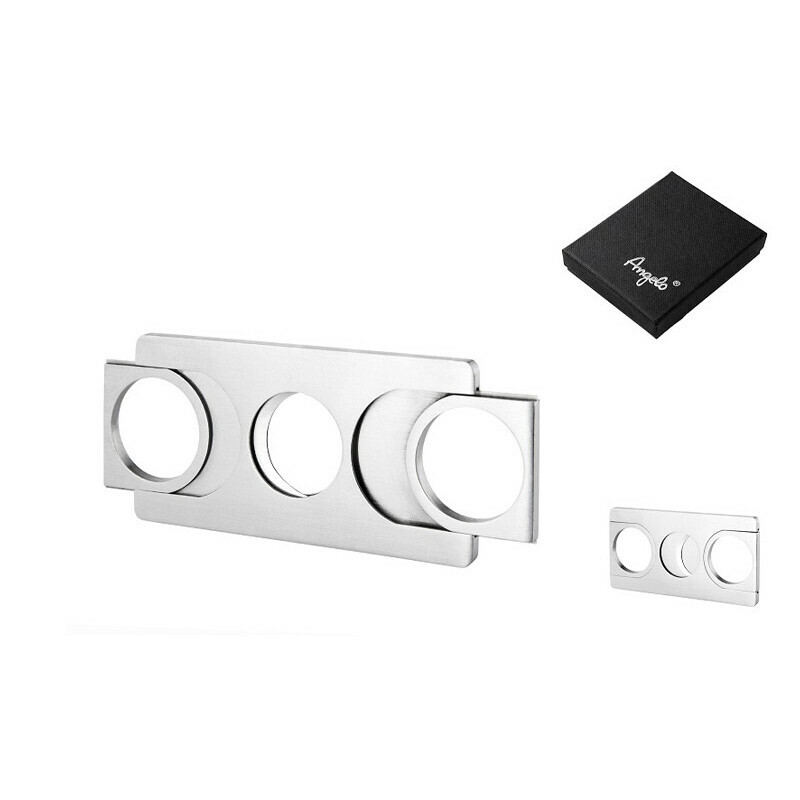 Angelo cigar cutter metal straight