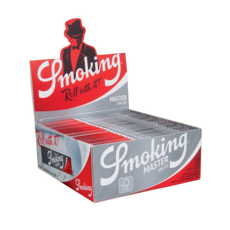Smoking Master King Size Silver Extra Slim 50 pcs