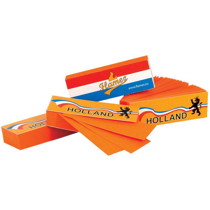 Flamez Filter Tip Booklet Holland 1 Pc