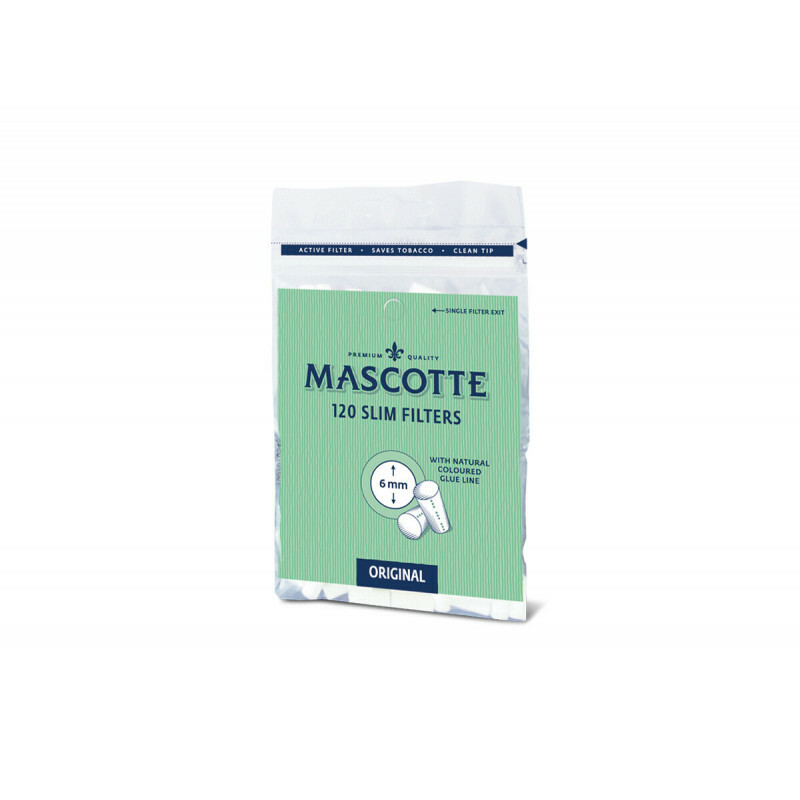 Mascotte Slim Filters 6Mm Bag 120 Pcs
