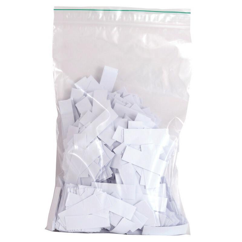 Bag colored paper tips white 2000pcs