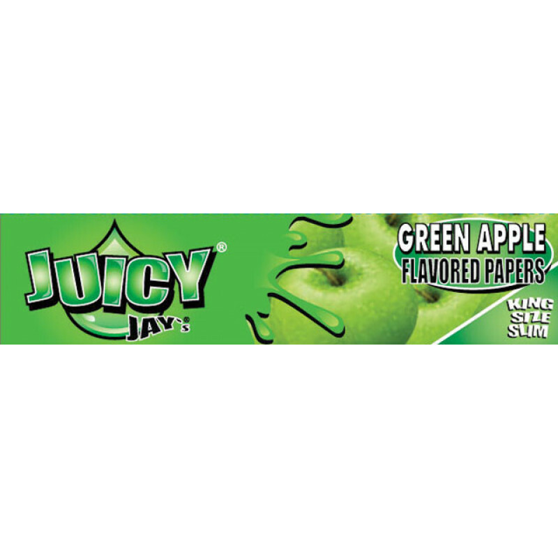 Juicy Jays Green Apple Kss 1 Pc