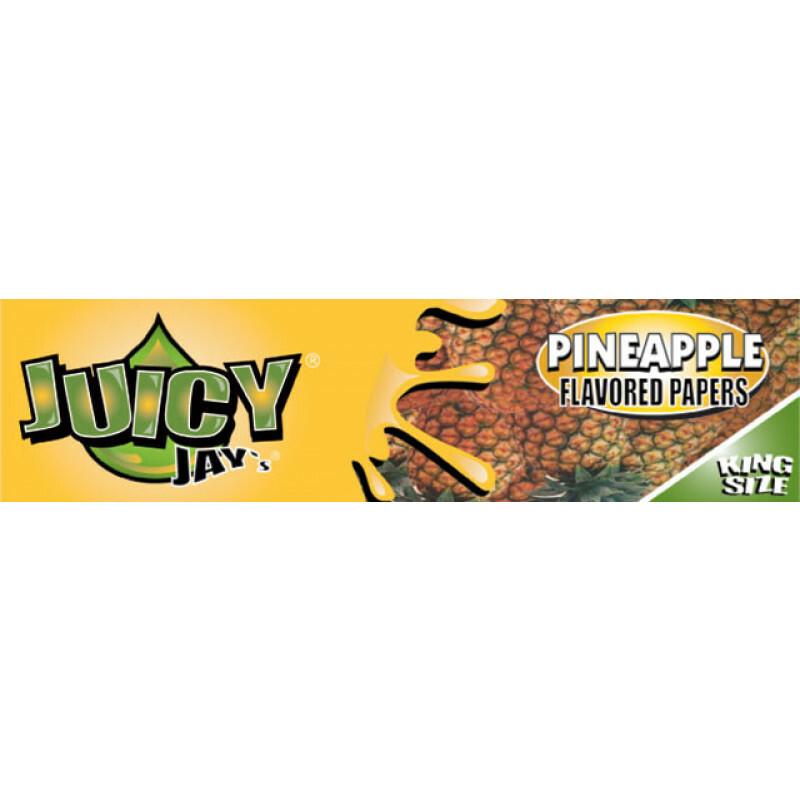 Juicy Jays Pineapple King Size Slim 1 Pc