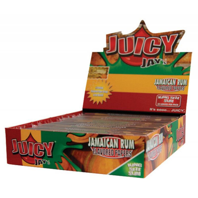 Juicy Jays Jamaican Rum King Size Slim (Box/24)