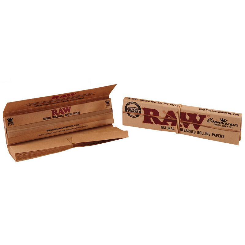 Raw connoisseur king size slim 1 booklet