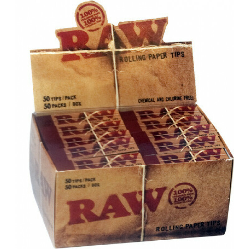 Raw tips box 50