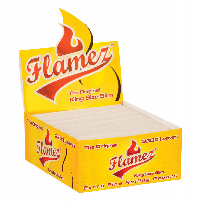Display Flamez Kingsize Slim Papers 3300 Losse Vloeitjes