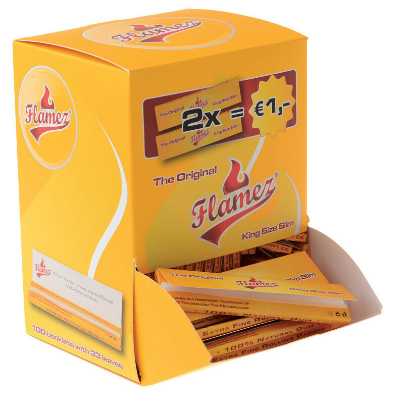 Flamez King Size Slim Tower Box 100 Pcs