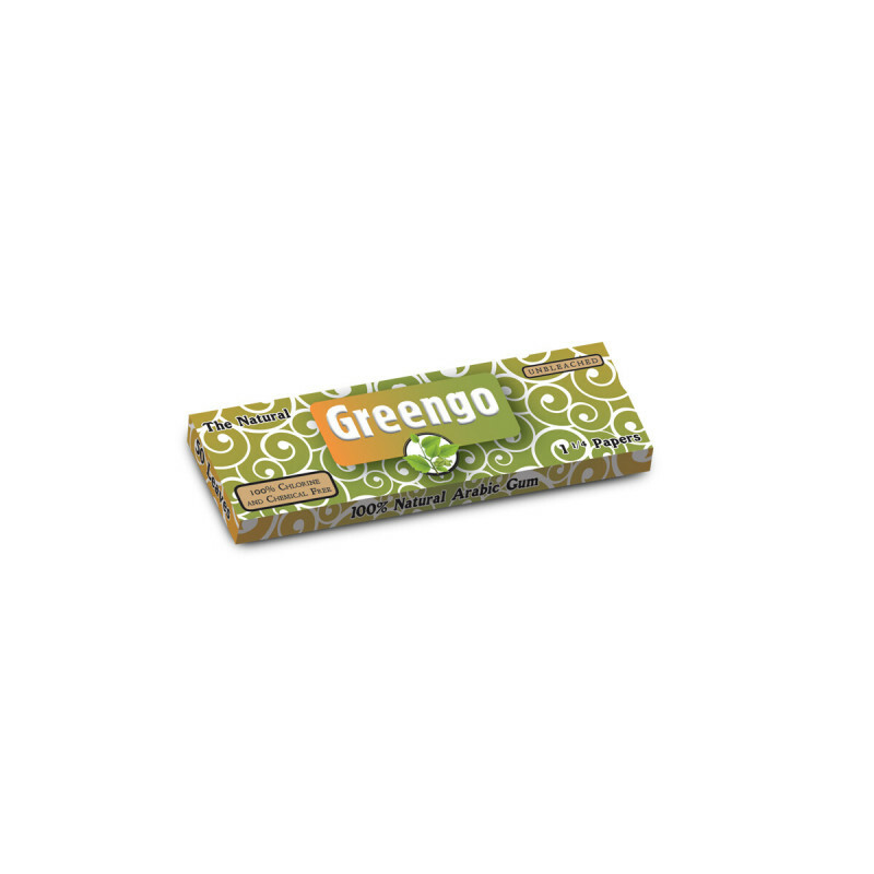 Greengo Unbleached 1 1/4 Papers 1 pack