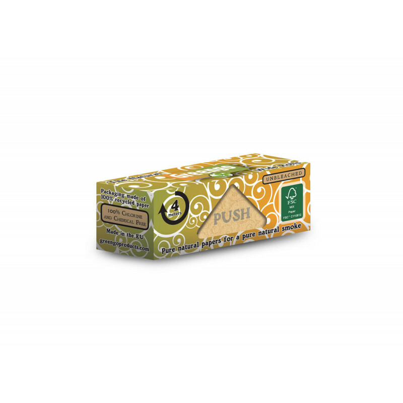 Greengo Unbleached Wide Roll 53 Mm 1 Pack