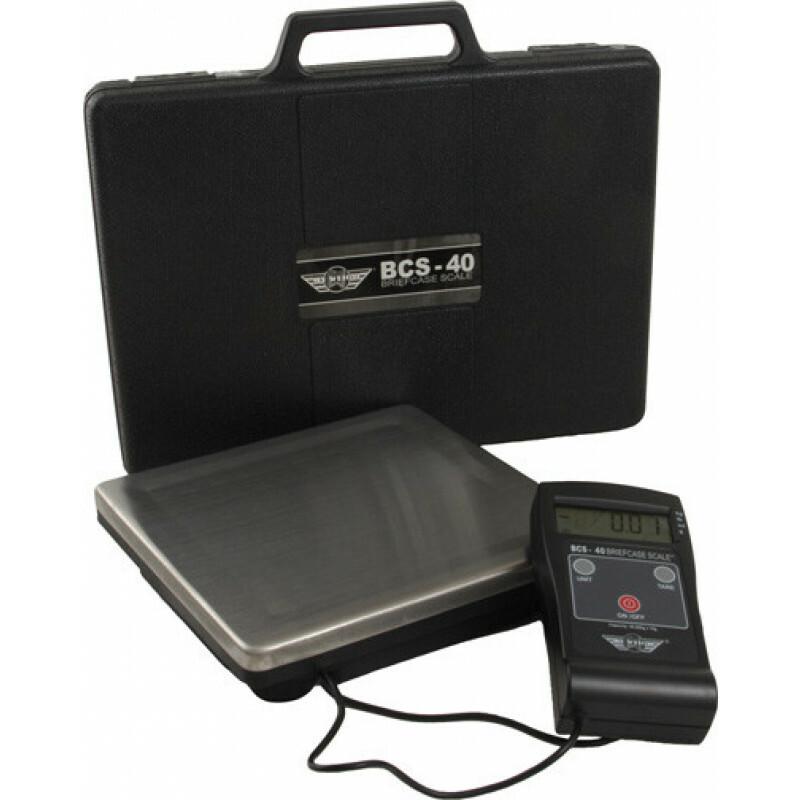 My weigh brief case scale (bcs) 40kg x 0,01kg