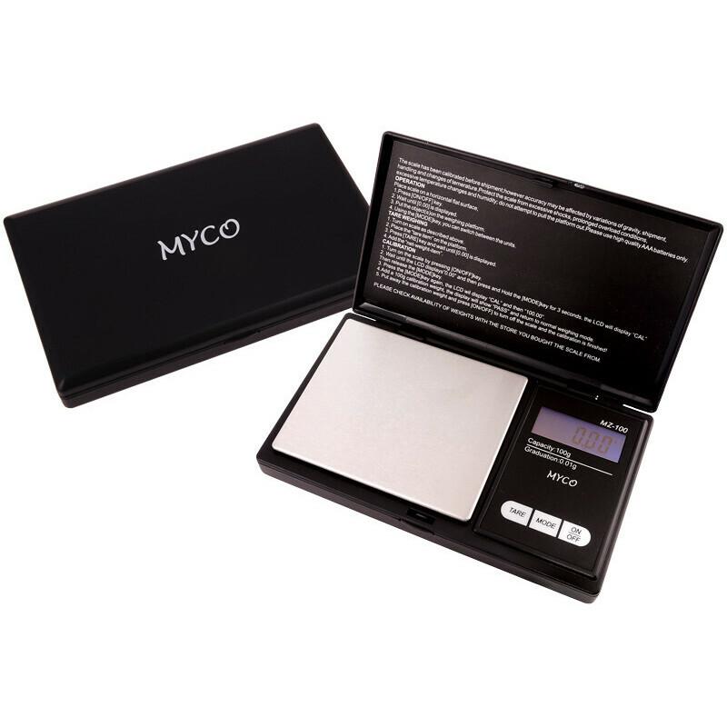 Myco pocketscale mz-100 100x0.01 gr black