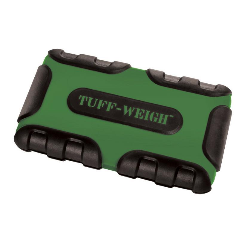 Tuff-Weigh-1000 Scale Green/Black 1000 X 0,1Gr