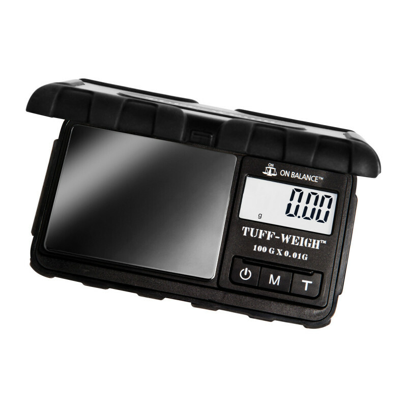 Tuff-Weigh Tuff-100 Scale Black/Titanium/Chrome 100 X 0,01Gr
