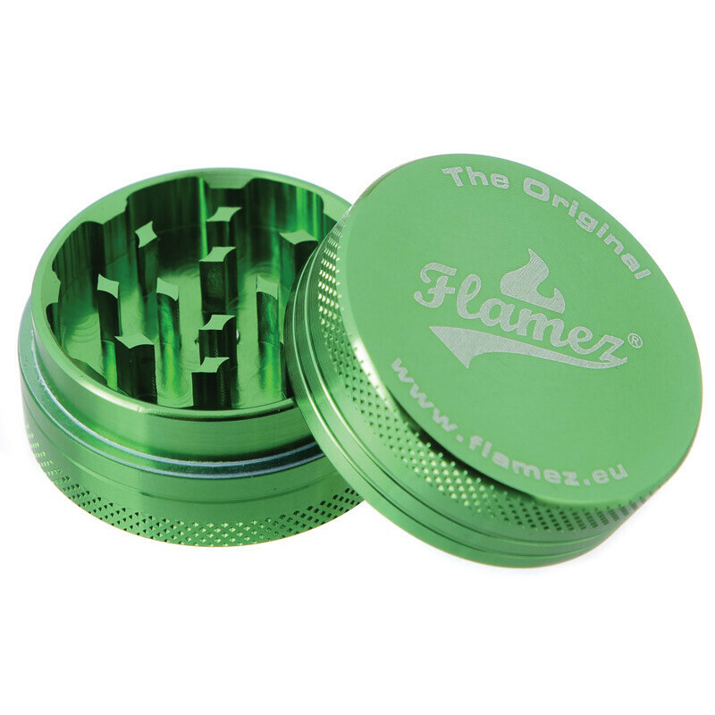 Flamez grinder 2 parts 40 mm green
