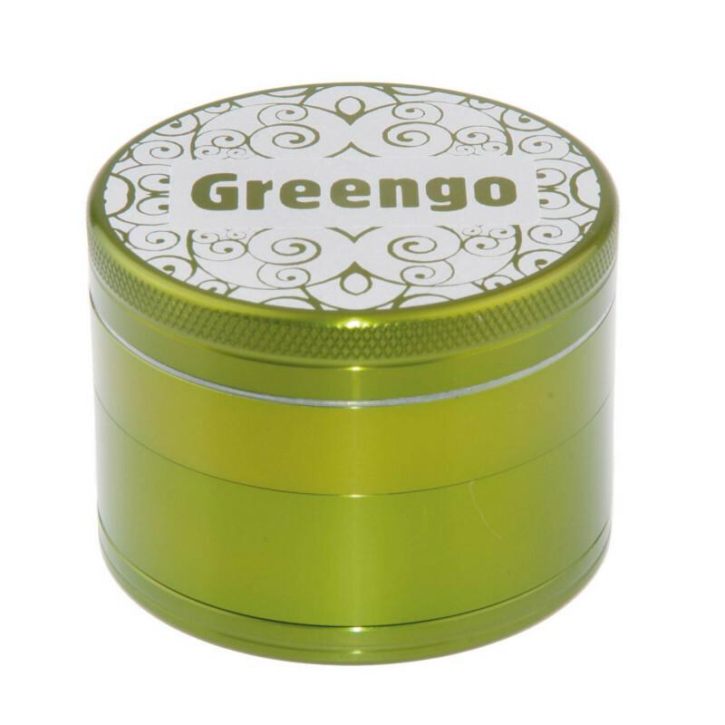 Greengo Grinder 4 Parts 63 Mm Green