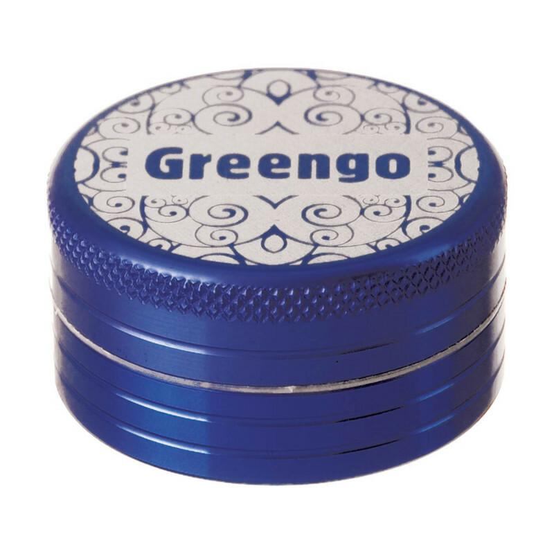 Greengo Grinder 2 Parts 40 Mm Blue
