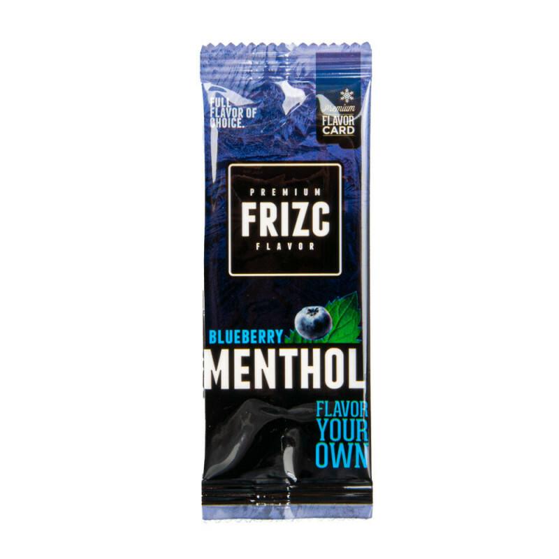 Frizc Flavor Card Menthol & Blueberry