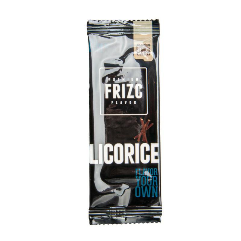 Frizc Flavor Card Licorice