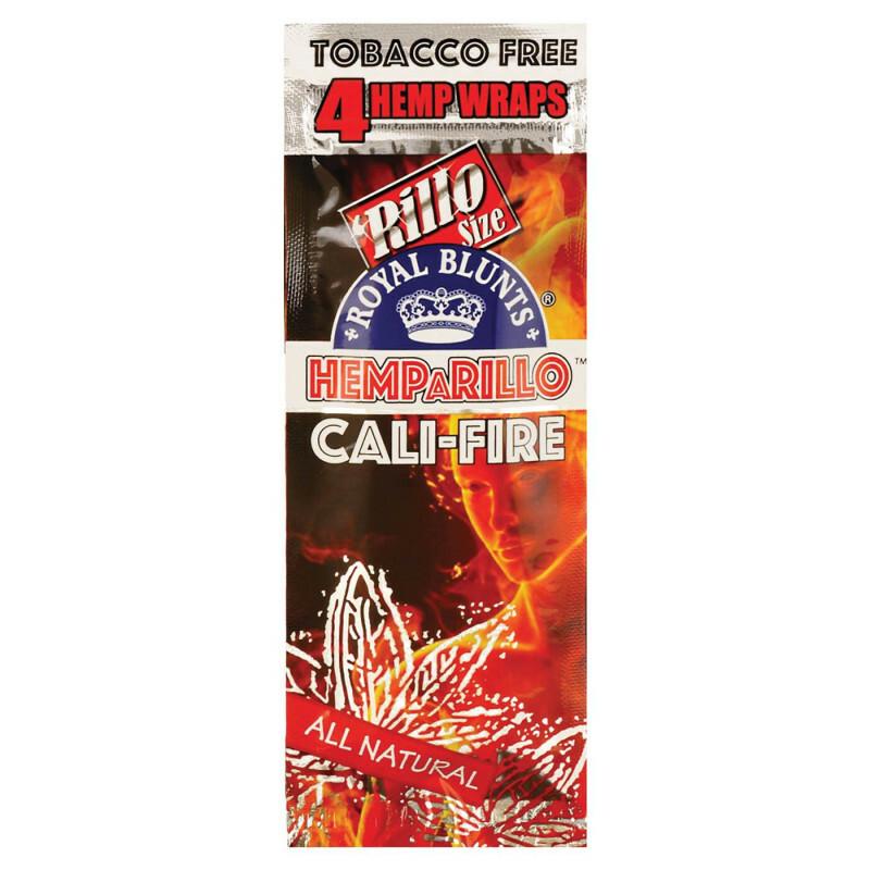 Hemparillo Hemp Blunts Cali-Fire 4 Pcs