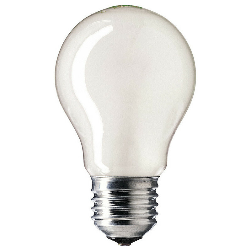 Spare lightbulb for lavalamp 75w frosted