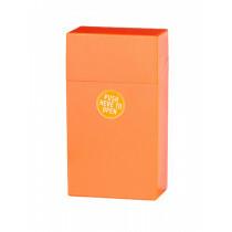 Clic Boxx Cigarette Box 100Mm 19 Cig Neon Orange