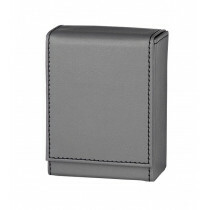 Angelo 30 Cig Box Faux Leather  Grey