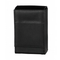 Angelo 100Mm Cig Box Faux Leather Black