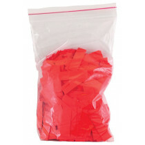 Bag colored paper tips red 2000pcs