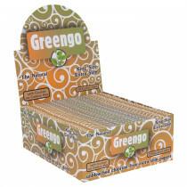 Display Greengo Unbleached King Size Extra Slim 50 Pcs