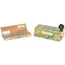 Greengo unbleached 1 1/4 papers 5 pack