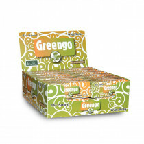 Display Greengo Unbleached Wide Rolls 53 Mm 24 Pcs