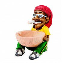 Rasta Ashtray Sitting Cup 12 Cm