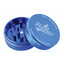 Flamez grinder 2 parts 50 mm blue