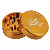 Flamez grinder 2 parts 50 mm gold