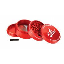 Flamez grinder 4 parts 60 mm red