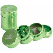 Flamez grinder 4 parts 30 mm green