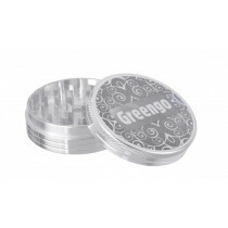Greengo Grinder 2 Parts 63 Mm Silver