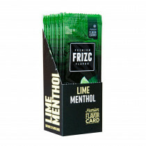 Display Frizc Flavor Card Menthol & Lime 25 Pcs