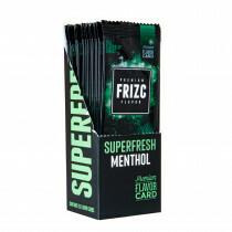 Display Frizc Flavor Card Superfresh Menthol 25 Pcs