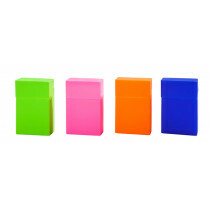 Cigarette Pack Holder Bright Colours 1 Pc Assorted