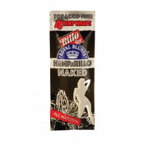 Hemparillo Hemp Blunts Naked 4 Pcs