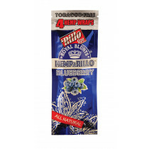 Hemparillo Hemp Blunts Blueberry 4 Pcs