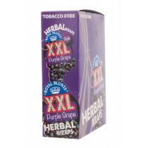 Display Hemparillo Xxl Herbal Wraps Purple Grape 25X2 Pcs