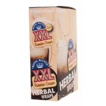 Display Hemparillo Xxl Herbal Wraps Russian Cream 25X2 Pcs