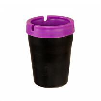 Car Ashtray Purple 1Pc