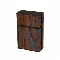 Cigarette Box 20 Cig Acryl Darkwood