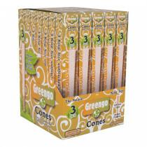 Greengo Cones 109/26Mm 3 Pack 35 Pcs