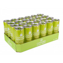 Tray Cannabis Energy Drink Lime 24 Pcs