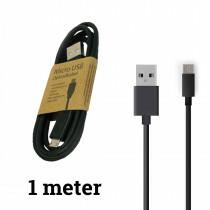 Grab N Go Usb C Charging Cable 1M Black